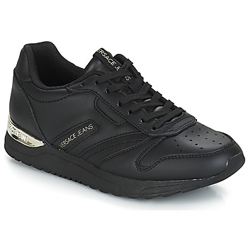 Cipők Női Rövid szárú edzőcipők Versace Jeans TAPADO Fekete
