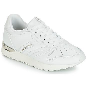 Cipők Női Rövid szárú edzőcipők Versace Jeans TAPADO Fehér