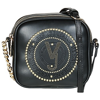 Táskák Női Válltáskák Versace Jeans AMACULA Fekete