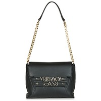 Táskák Női Válltáskák Versace Jeans PURACE Fekete