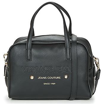 Táskák Női Kézitáskák Versace Jeans CUMBALI Fekete