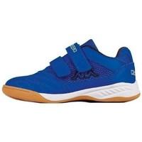 Cipők Fiú Rövid szárú edzőcipők Kappa Kickoff K Kék