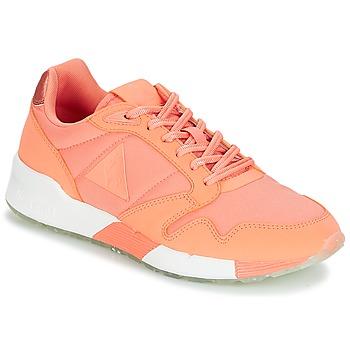 Cipők Női Rövid szárú edzőcipők Le Coq Sportif OMEGA X W METALLIC Papaya / Puncs