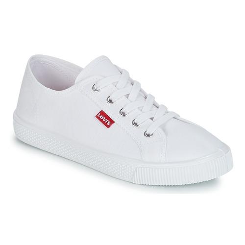 Cipők Női Rövid szárú edzőcipők Levi's MALIBU BEACH S Fehér