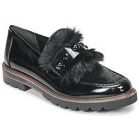 Cipők Női Mokkaszínek Marco Tozzi TANIT Fekete