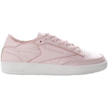 Cipők Női Rövid szárú edzőcipők Reebok Sport Club C 85 Dcn Rózsaszín