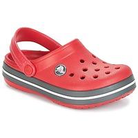 Cipők Gyerek Klumpák Crocs CROCBAND CLOG KIDS Piros