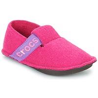 Cipők Lány Mamuszok Crocs CLASSIC SLIPPER K Rózsaszín