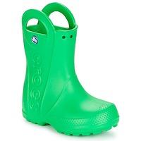 Cipők Gyerek Gumicsizmák Crocs HANDLE IT RAIN BOOT KIDS Zöld