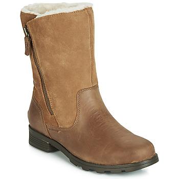 Cipők Női Csizmák Sorel EMELIE FOLDOVER Teve