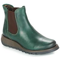 Cipők Női Csizmák Fly London SALV Benzin / Zöld