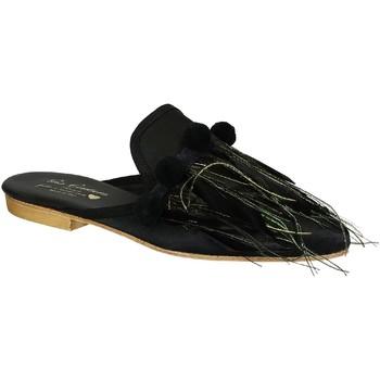 Cipők Női Klumpák Gia Couture VENUS SATIN B nero