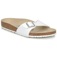 Cipők Férfi Papucsok Birkenstock MADRID Fehér