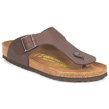 Cipők Férfi Lábujjközös papucsok Birkenstock RAMSES Barna