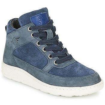 Cipők Fiú Magas szárú edzőcipők Bullboxer LAVINO Kék
