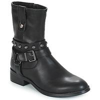 Cipők Női Csizmák Les Petites Bombes LOUNA Fekete