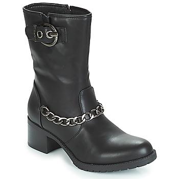 Cipők Női Bokacsizmák Les Petites Bombes LOANNE Fekete