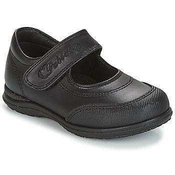 Cipők Lány Balerina cipők / babák Pablosky BEVRIL Fekete
