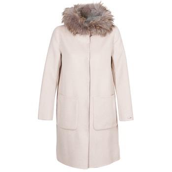 Ruhák Női Kabátok Oakwood YALE BI Bézs / Szürke
