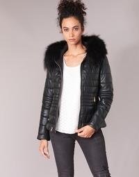 Ruhák Női Steppelt kabátok Oakwood JELLY Fekete