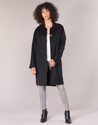 Ruhák Női Kabátok Benetton MARBELLO Fekete