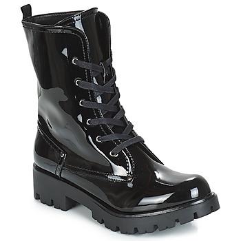Cipők Női Csizmák Buffalo SKYLIGHT Fekete  / Fényes
