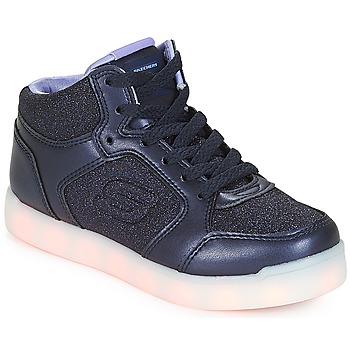 Cipők Lány Magas szárú edzőcipők Skechers ENERGY LIGHTS Sötétkék
