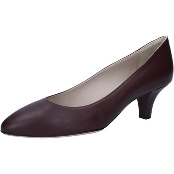 Cipők Női Félcipők Bally Shoes decolte bordeaux pelle BY12 Rosso
