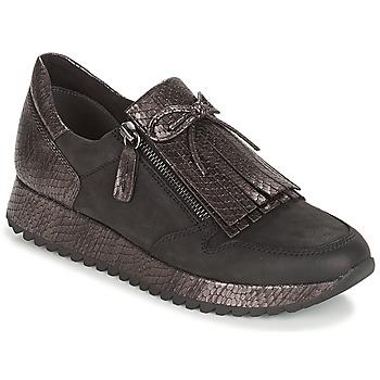 Cipők Női Rövid szárú edzőcipők Tamaris DIVA Fekete
