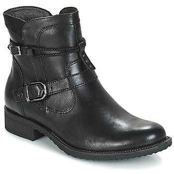 Cipők Női Csizmák Tamaris ANOUK Fekete