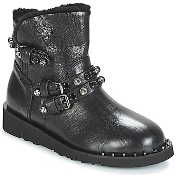 Cipők Női Csizmák Mimmu MALONN Fekete