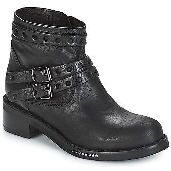 Cipők Női Csizmák Mimmu MAIRON Fekete