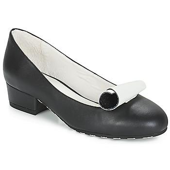 Cipők Női Balerina cipők  Lola Ramona ALICE Fekete  / Fehér
