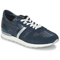 Cipők Női Rövid szárú edzőcipők Serafini LOS ANGELES Kék