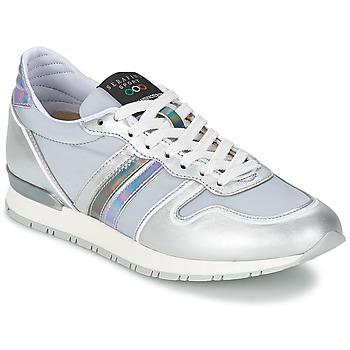 Cipők Női Rövid szárú edzőcipők Serafini LOS ANGELES Ezüst / Szürke