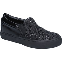 Cipők Női Belebújós cipők Sara Lopez BY240 Fekete