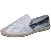 Cipők Női Mokkaszínek Sara Lopez Espadrilles BY241 Ezüst