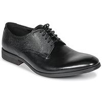 Cipők Férfi Oxford cipők Clarks GILMORE Fekete / Bőrszínű