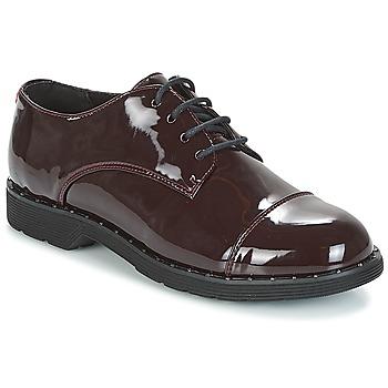 Cipők Női Oxford cipők Coolway PARIS Bordó / Fényes