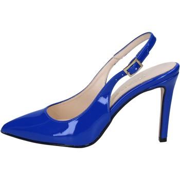Cipők Női Szandálok / Saruk Olga Rubini sandali blu vernice BY285 Blu