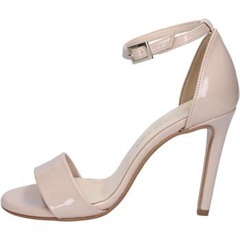 Cipők Női Szandálok / Saruk Olga Rubini sandali beige vernice BY289 Beige
