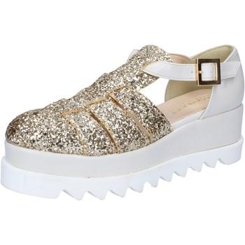Cipők Női Szandálok / Saruk Olga Rubini BY337 Ezüst
