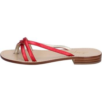 Cipők Női Szandálok / Saruk Capri Soleae BY501 Piros