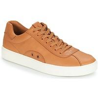 Cipők Férfi Rövid szárú edzőcipők Polo Ralph Lauren COURT 100 Barna