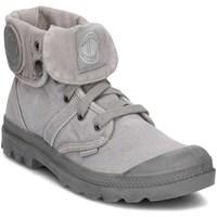 Cipők Női Magas szárú edzőcipők Palladium Manufacture Pallabrouse Baggy Szürke