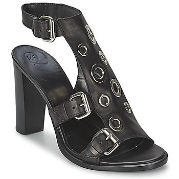 Cipők Női Szandálok / Saruk McQ Alexander McQueen NICO Fekete