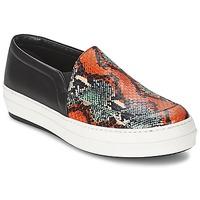 Cipők Női Belebújós cipők McQ Alexander McQueen DAZE Fekete  / Sokszínű