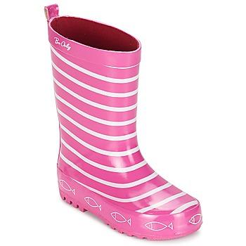 Cipők Lány Gumicsizmák Be Only TIMOUSS Rózsaszín