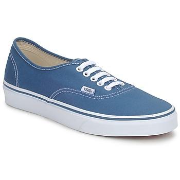 Shoes Rövid szárú edzőcipők Vans AUTHENTIC Kék