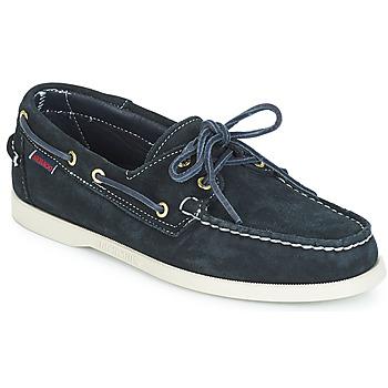 Cipők Férfi Vitorlás cipők Sebago DOCKSIDES SUEDE Tengerész